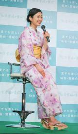 「仙台・宮城【伊達な旅】夏キャンペーン2017」に出席した壇蜜 (C)oricon ME inc.
