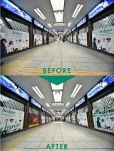 JR原宿駅通路