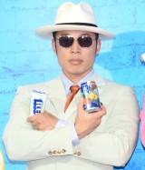 『氷結 ICEBOXスタンド』のオープニングイベントに出席したなかやまきんに君 (C)ORICON NewS inc.