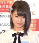 日本体育協会『フェアプレイで日本を元気に』の記念イベントに参加したAKB48・山田菜々美