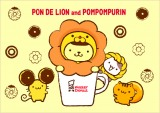 「PON DE LION and POMPOMPURIN」キービジュアル(C)MISDO (C)1976,1996,2017 SANRIO CO.,LTD.