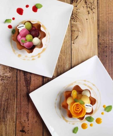 「カフェコムサ」からハーゲンダッツの定番「バニラ」を使った贅沢夏メニュー