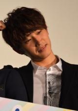 『兄に愛されすぎて困ってます』公開記念舞台あいさつに出席した杉野遙亮 (C)ORICON NewS inc.