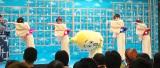 「U-18四天王」と共演するナナナ=テレビ東京『ナナナのバースデーパーティー』 (C)ORICON NewS inc.