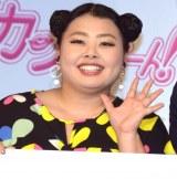 TBS系連続ドラマ『カンナさーん!』の舞台あいさつに出席した渡辺直美 (C)ORICON NewS inc.