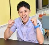 妻・金田朋子の代わりにナレーションに挑戦し、「率直に朋ちゃんってすげぇんだな!」と語った森渉 (C)ORICON NewS inc.