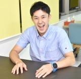 ABC朝日放送『ザキ山小屋』のナレーションを担当した森渉 (C)ORICON NewS inc.