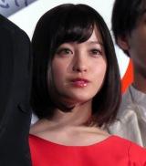 映画『銀魂』初日舞台あいさつに出席した橋本環奈 (C)ORICON NewS inc.