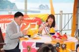 崎田恭平日南市長とマンゴーかき氷早食い対決