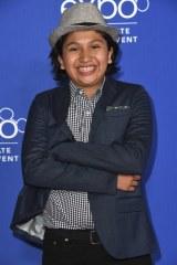 ミゲルの声を担当する12歳の新人アンソニー・ゴンザレス(C)Disney/Pixar.All rights reserved.