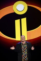 ディズニー/ピクサー『Mr.インクレディブル2(仮題)』(2018年6月15日全米公開)ジョン・ラセター氏=『D23 Expo 2017』(C)Disney/Pixar.All rights reserved.