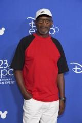 ディズニー/ピクサー『Mr.インクレディブル2(仮題)』(2018年6月15日全米公開)フロゾン/ルシアス・ベスト役のサミュエル・L・ジャクソン=『D23 Expo 2017』(C)Disney/Pixar.All rights reserved.