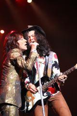 『RED WARRIORS 30th Anniversary「king's Rock'n Roll」』の模様(左から)ダイアモンド☆ユカイ、木暮武彦