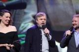映画『スター・ウォーズ/最後のジェダイ』(12月15日公開)のプレゼンテーションに参加したルーク・スカイウォーカー役を演じるマーク・ハミル=『D23 Expo 2017』(C)2017 Getty Images