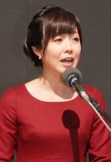 総合司会を務める有働由美子アナウンサー (C)ORICON NewS inc.