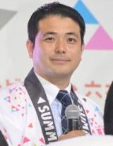 『テレビ朝日・六本木ヒルズ SUMMER STATION』記者会見に出席した吉野真治アナウンサー(C)ORICON NewS inc.