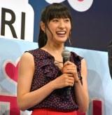 映画『トリガール!』完成披露テイクオフイベントに出演した土屋太鳳 (C)ORICON NewS inc.
