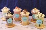 昨年も人気だった「ローラズ・カップケーキ 東京」の『カップケーキ・シェーク』が新フレーバーも加えて復活