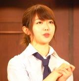 AKB48劇場 井上ヨシマサ『神曲縛り初日公演公開ゲネプロに参加した峯岸みなみ (C)ORICON NewS inc.