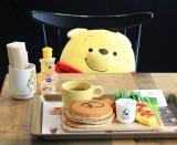 """パンケーキにフルーツ盛りプレートなど、「はちみつカフェ」のメニューがかわいすぎ!(c)Disney. Based on the """"Winnie the Pooh"""" works by A.A. Milne and E.H. Shepard."""