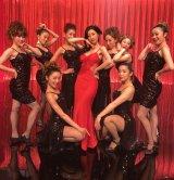 日本テレビ系『ウチの夫は仕事ができない』で魅惑のダンスを披露する壇蜜 (C)日本テレビ