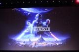 『スター・ウォーズ バトルフロントII』(PlayStation4、Xbox One、Origin PCの各機種で11月17日発売)=ディズニーファンイベント『D23 Expo 2017』(7月15日)(C) Disney. All rights reserved