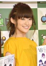『VB(VOICE BRODY)』(白夜書房)発売イベントに出席したi☆Risの茜屋日海夏 (C)ORICON NewS inc.
