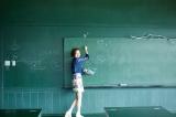 作品名/関係 - 黒板の教室 作家名/河口龍夫 Photo/RYUGO SAITO Styling/MAIKO Make/AIKO ONO(angle)