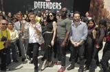 Netflixオリジナルドラマ『Marvel ザ・ディフェンダーズ』米サンディエゴで開催されたコミコンでのファン撮影会のひとコマ
