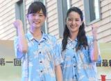 日本テレビの新人アナウンサー(左から)佐藤梨那、後呂有紗 (C)ORICON NewS inc.