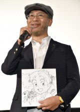 映画『メアリと魔女の花』大ヒット舞台あいさつに出席した米林宏昌監督 (C)ORICON NewS inc.