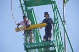 バンジージャンプに挑戦した横浜流星