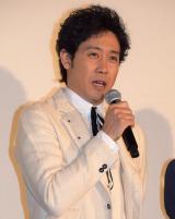 『東京喰種 トーキョーグール』の初日舞台あいさつに出席した大泉洋