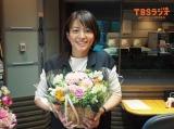 第1子を出産した赤江珠緒アナウンサー(今年3月の産休入り直前/写真提供:TBSラジオ)