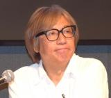 『THE ドラえもん展TOKYO 2017』の記者発表会見に参加したしりあがり寿氏 (C)ORICON NewS inc.