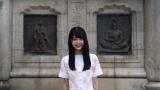 乃木坂46の3期生・久保史緒里が仙台の魅力を伝える(C)乃木坂46LLC