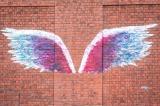 完成した日本初の「天使の羽」
