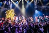 金爆・鬼龍院が乱入したライブイベント『♀フェス 〜日本一おもろいバンド決定戦〜』
