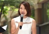 『MARUNOUCHI SPORTS FES 2017』のオープニングセレモニーに出席した福島千里選手 (C)ORICON NewS inc.