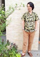 Style02 ボタニカル柄とチュラルカラーでリゾート風コーデ  アイテム:「シップス」1万1000円(税抜)(C)oricon ME inc.