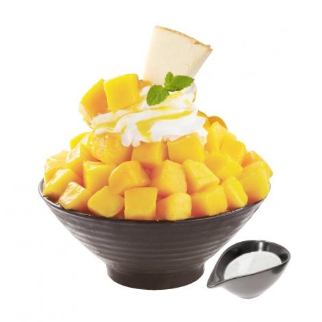 人気のコリアンデザートカフェ「SULBING」から『マンゴーココナッツソルビン』が限定復活