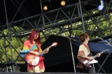 『WORLD HAPPINESS 2017』に出演したGLIM SPANKY PHOTO:TEAM LIGHTSOME