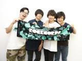 東京・渋谷で行われたボランティア活動にロックバンド・androp(左から)前田恭介、内澤崇仁、佐藤拓也、伊藤彬彦