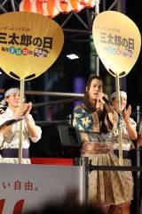 初開催された『渋谷盆踊り大会』に浦ちゃん登場
