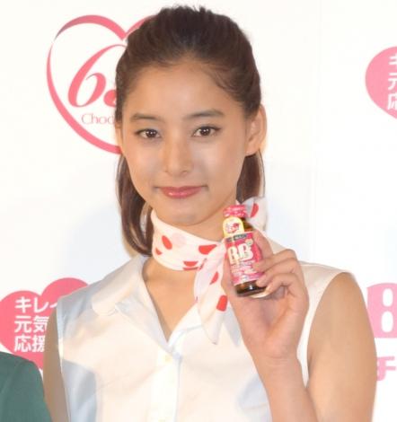 エーザイ『チョコラBB』の発売65周年イベントに出席した新木優子 (C)ORICON NewS inc.