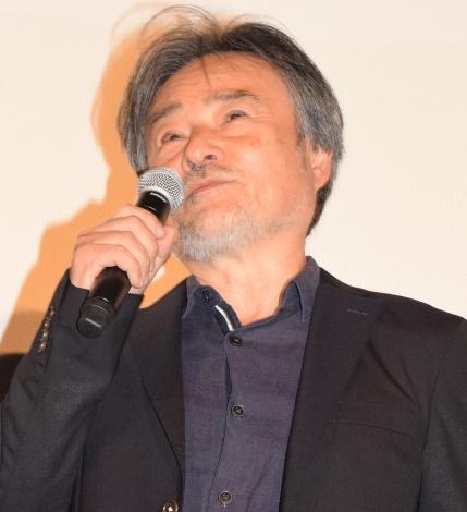 映画『散歩する侵略者』完成披露舞台あいさつに出席した黒沢清監督 (C)ORICON NewS inc.