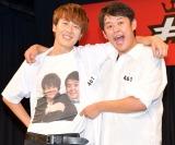 自身のラジオ番組から生まれた『第七学園演芸部』として出場した(左から)土田拓海、酒井直斗 (C)ORICON NewS inc.