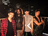 Royal Flushのメンバー(左から)龍太-Ryota-、Cody、矢内康洋、ICHI