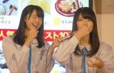 「ひろしまブランドショップTAU」人気グルメのエア食レポに挑戦 (C)ORICON NewS inc.