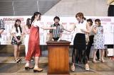 3人組ユニット「サンコン」の代表として指原莉乃が勝利した瞬間(C)AKS
